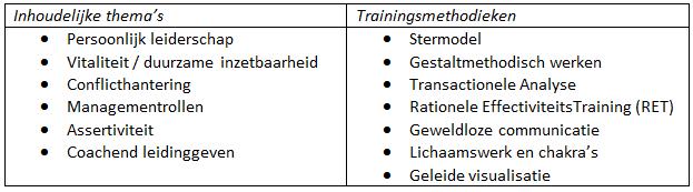 Opleiding Trainen met ziel en zakelijkheid 3: Persoonlijk procestrainer