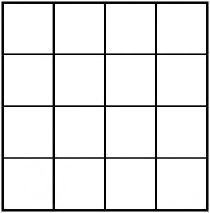 Hoeveel vierkanten zie je
